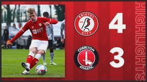 Bristol City U23s 4-3 Charlton Athletic U23s