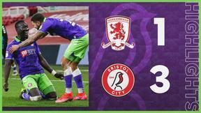 Middlesbrough 1-3 Bristol City