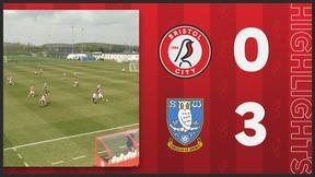 Bristol City U18s 0-3 Sheffield Wednesday U18s