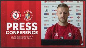 Dan Bentley press conference   Bristol City vs Luton Town
