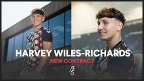 Harvey Wiles-Richards signs a new contract