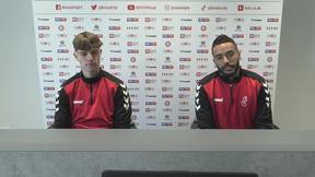 Alex Scott & Danny Simpson press conference   Bristol City vs Brentford