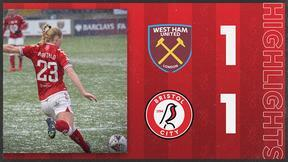 Highlights: West Ham United 1-1 Bristol City Women