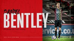 Bentley wins Player of the Year