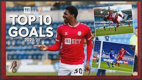 Top 10 Goals: 2020/21 season