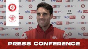 Matty James press conference   Bristol City vs Blackpool