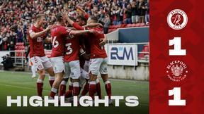 Bristol City 1-1 Blackpool