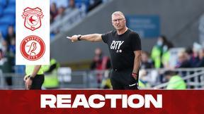 Pearson reacts to Cardiff win