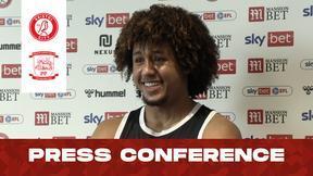 Han-Noah Massengo press conference   Bristol City vs Preston North End