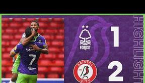 Four wins in a row for the Robins! 💜 Highlights   Nottingham Forest 1-2 Bristol City