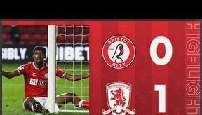HIGHLIGHTS   Robins suffer first league defeat   Bristol City 0-1 Middlesbrough