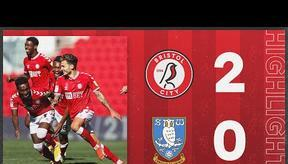 HIGHLIGHTS   3 wins from 3 for the Robins!   Bristol City 2-0 Sheffield Wednesday