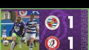 HIGHLIGHTS   Reading Women 1-1 Bristol City Women