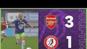 HIGHLIGHTS   Arsenal Women 3-1 Bristol City Women