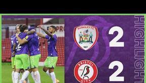 HIGHLIGHTS   Robins extend unbeaten run!   Barnsley 2-2 Bristol City