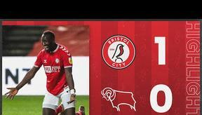 HIGHLIGHTS   Diédhiou bags winner for The Robins!   Bristol City 1-0 Derby County