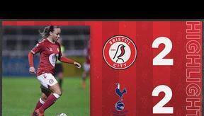 HIGHLIGHTS   Bristol City Women 2-2 Tottenham Hotspur