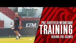 City prepare for Sheffield Wednesday ⚽️ TRAINING 🎥 Behind-the-scenes