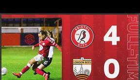 HIGHLIGHTS   Bristol City Women 4-0 London Bees