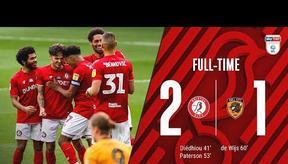 Diédhiou and Paterson give the Robins victory   Extended Highlights: Bristol City 2-1 Hull City