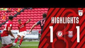HIGHLIGHTS   Robins held to draw at Ashton Gate   Bristol City 1-1 Stoke City