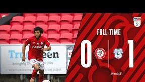 Extended highlights: Bristol City 0-1 Cardiff