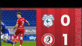 Martin scores after 96 seconds!   Cardiff City 0-1 Bristol City   Highlights