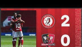 HIGHLIGHTS: Bristol City 2-0 Exeter City