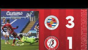 HIGHLIGHTS   Reading 3-1 Bristol City