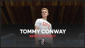 Tommy Conway signs a new contract